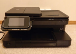 HP PHOTOSMART 7510 PRINTER $150 WORTH OF NEW INK CARTRIDGES