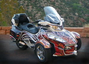 Custom Designed Spyder Graphics & Wraps
