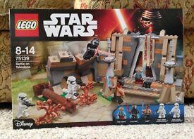 Lego Star Wars Battle in Takodana New