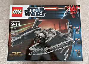 LEGO Star Wars 9500 Sith Fury-Class Interceptor Old Republic NEW