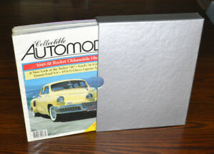 Rare Collectible Automobile magazines - a full set from 1985