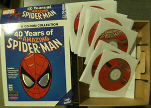 40 Years of the Amazing Spiderman 11 Cd-ROM Kitchener / Waterloo Kitchener Area image 2