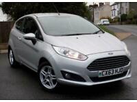 2013 Ford Fiesta 1.0 Zetec 3dr ( only 23k mi ) 80ps Start/Stop HATCHBACK Petrol
