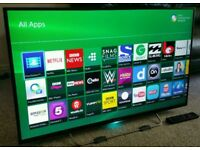 """SONY 60"""" LED FULL HD SMART TV WITH BUILT IN WiFi FREEVIEW HD, HDMI NEW CONDITION FULLY WORKING"""