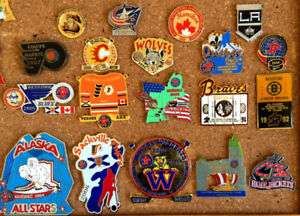 Hockey Pins From Quebec Pee Wee Tournament