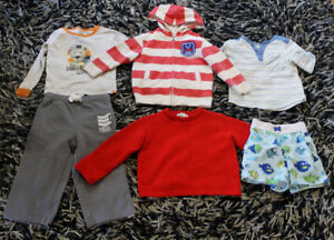 Boy's clothes size 2 years old everything for $5