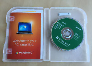 Genuine Microsoft Windows 7 Home Premium Upgrade 32 Bit &64 Bit