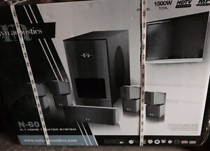 Nolyn acoustics home theatre system