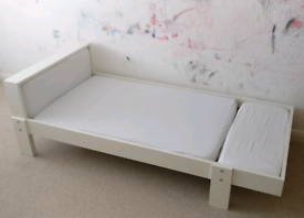 Bed - kids extendable IKEA Vikare bed.