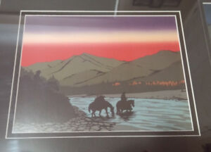 Roy Henry Vickers High Country Series Print (horses, western)