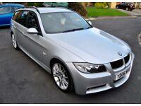 BMW 330I M SPORT TOURING, 86K, SAT NAV