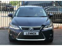 2017 Lexus CT 200H 1.8 200h Advance CVT (s/s) 5dr Hatchback Petrol/Electric Hybr