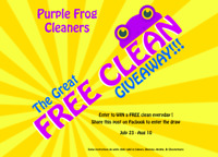 Free Clean Giveaway!