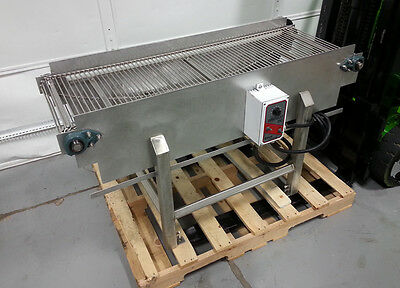 Chocolate Enrobing Cooling Line Conveyor Stainless Tempering Baking Food V Speed
