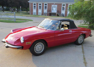 WANTED: 1970 to 1974 Alfa Romeo Spider