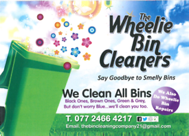 Wheelie bin cleaning for co Armagh