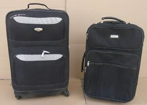 2 CARRY-ONS EACH 20.00 & MEDIUM SPINNER SUITCASE 35.00