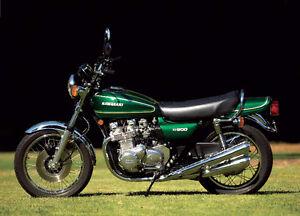KZ 900 Z1 parts 1973 to 75
