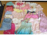 Massive lot of girls 2-3 years kids clothes tops bottoms summer next Disney etc