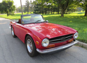 1973 TR6 with Overdrive