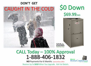 FURNACES $69.99  & NO PAYMENTS FOR 6 Months Windsor Region Ontario image 1