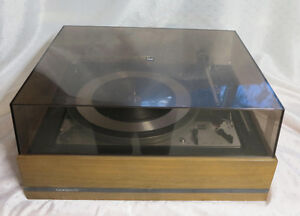 70's Dual 1209 Stacker multiplay vinyl record turntable $150