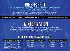 Mobile Shrink Wrapping And Winterization Peterborough Peterborough Area image 2