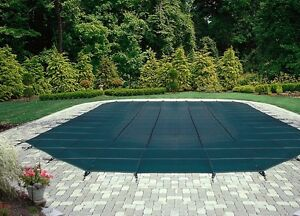 Wintermesh  safety pool cover approx 15 by 30- new price!