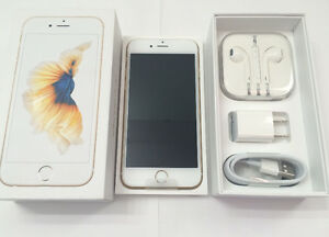 Brand New in Box Apple iPhone 6S 16GB Gold Factory Unlocked 625
