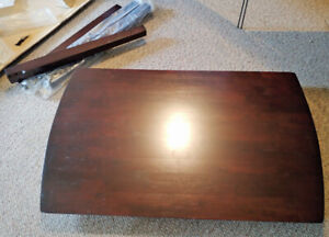 Small solid wood dining table, brand new