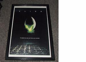 Alien Mini Movie Poster And Frame - $28.00
