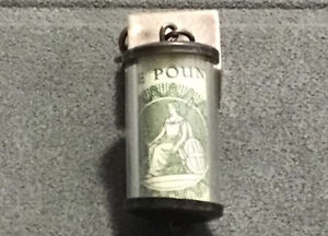 Vintage Silver 1 Pound Note Charm