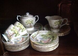 1950's  Afternoon Tea Set, Shelley China