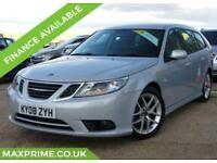 2008 SAAB 9-3 1.8 TURBO PETROL VECTOR SPORT ESTATE AUTOMATIC FULL SAAB HISTORY