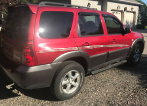 2006 Mazda Tribute 4x4- will hold loan