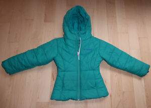 Columbia girl's winter caot, size 4 - 5T, very good condition