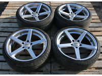 "AVA Miami 19"" Staggered Alloy Wheels 5x120 BMW E60 E61 M Sport 535d 530d 540i 530i"