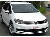 Volkswagen TOURAN SE 1.6 TDI 115ps ( EU6 ) 2017 MPV 7 seats and only 500mi
