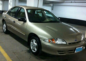 2001 Chevrolet Cavalier 2.2L Sedan, good condition, e-tested