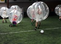 Bubble soccer Toronto! Awesome workout!!