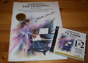 Ear training book/CD by Carol Scholar