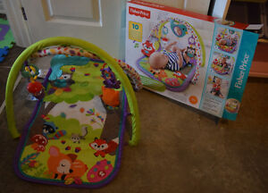 Fisher Price Woodland Baby Infant Musical Activity Gym
