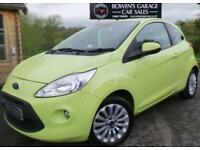 2010 59 FORD KA 1.2 ZETEC 3DR - 6 SERVICE STAMPS - £30 TAX - AIR CON ALLOYS