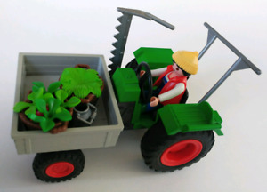 Playmobil tracteur agricole