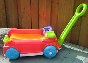 FISHER PRICE MUSICAL (battery operated) WAGON