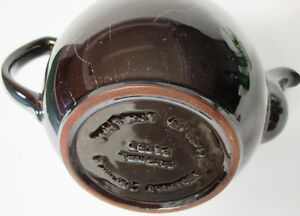 The ADDERLEY CERAMICS Traditional Brown Betty Teapot 8 cups Stratford Kitchener Area image 4
