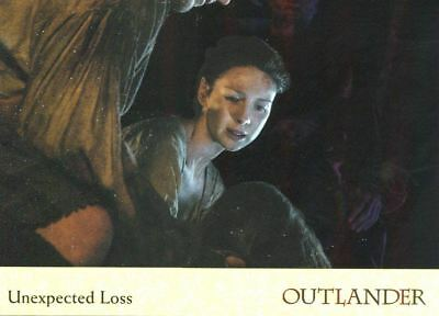 Outlander Season 2 Rainbow Foil Base Card #55 Unexpected Loss