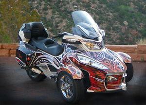 Custom Designed Spyder Graphics & Wraps