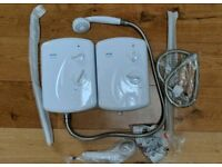 🚿 2x Electric showers - Triton Cara never used