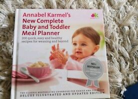 Baby and toddler cook book
